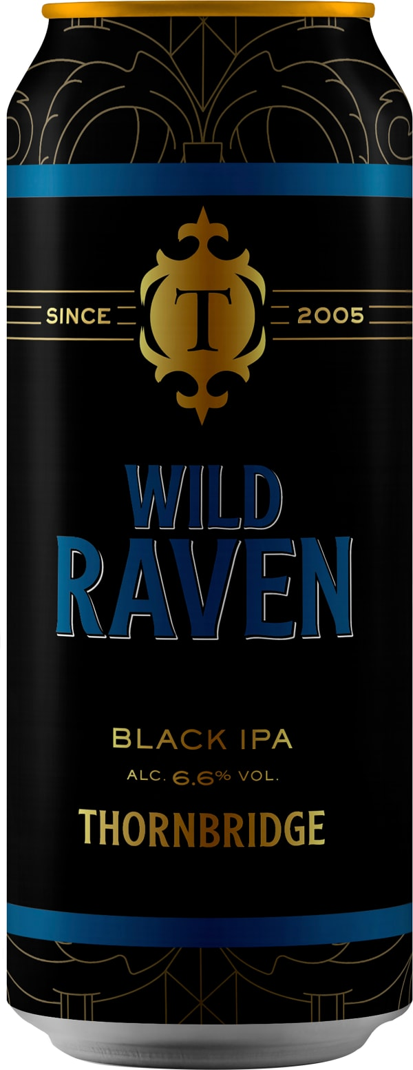 Thornbridge Wild Raven Black IPA can