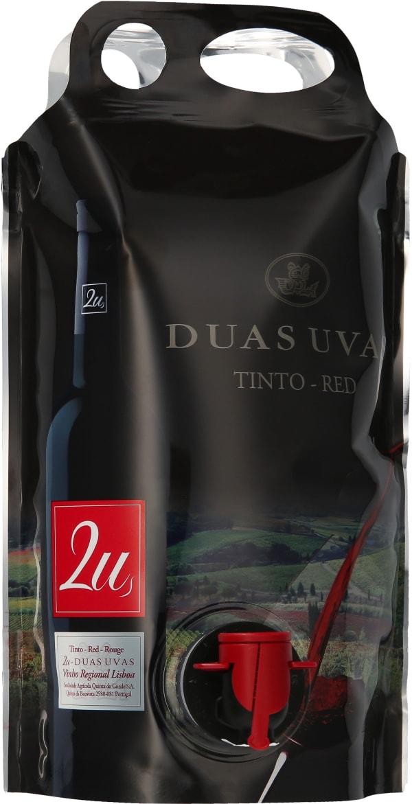 2U Duas Uvas Red 2019 wine pouch