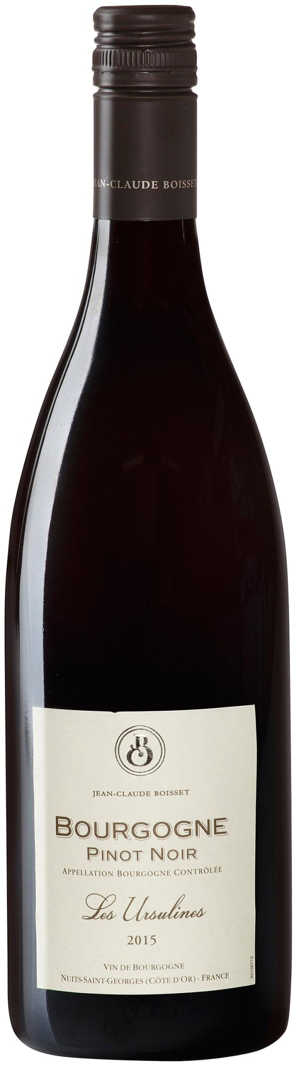 Jean-Claude Boisset Les Ursulines Pinot Noir 2017
