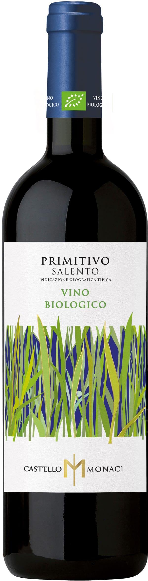 Castello Monaci Primitivo Biologico 2017