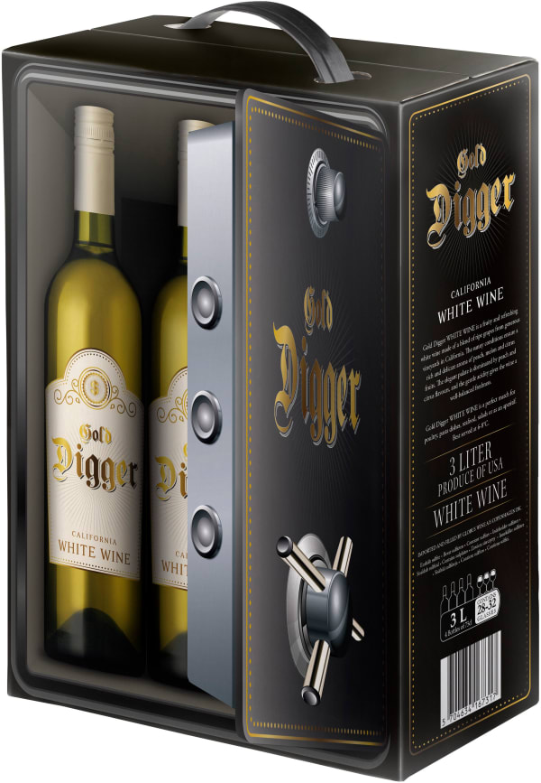 Gold Digger White bag-in-box