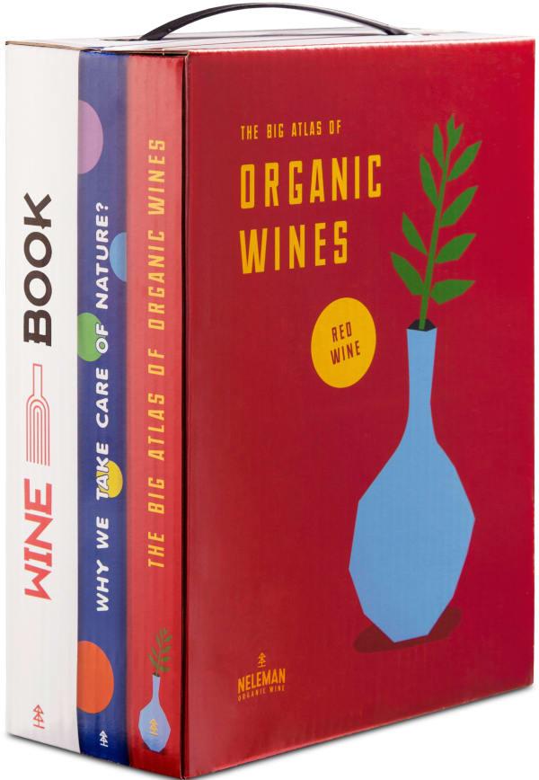 Neleman Wine in Books Organic Red 2020 bag-in-box