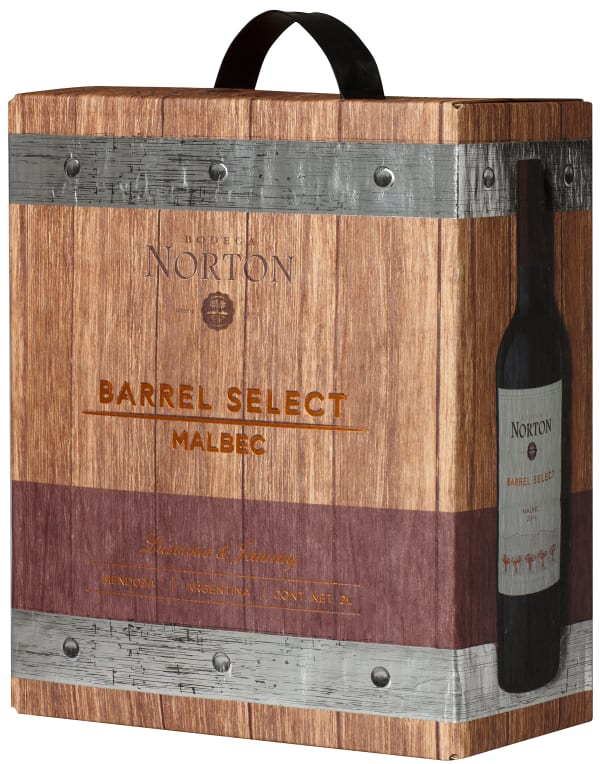 Norton Barrel Select Malbec 2018 bag-in-box