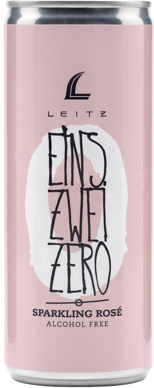 Leitz Eins-Zwei-Zero Sparkling Rose Alcohol Free burk