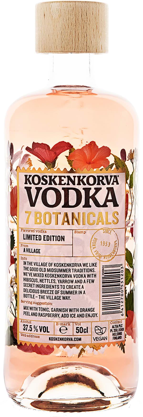 Koskenkorva Vodka Botanicals