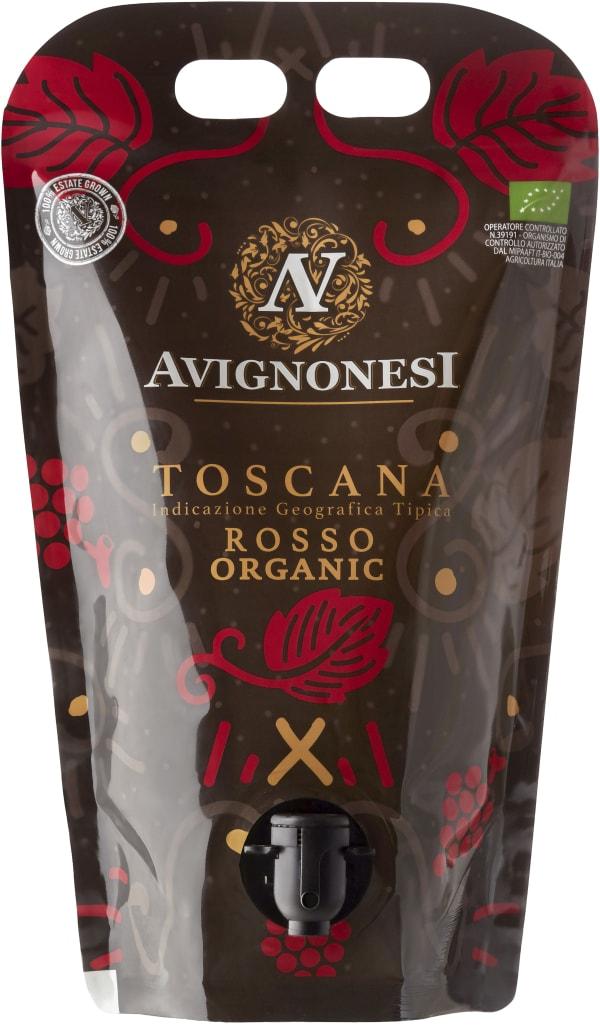 Avignonesi Toscana Rosso Organic 2020 wine pouch