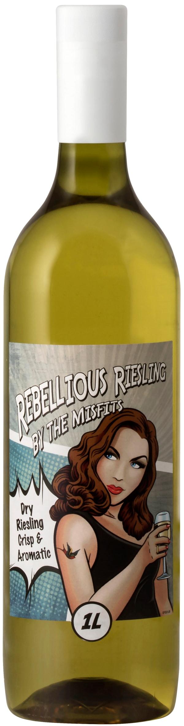 Rebellious Riesling plastic bottle