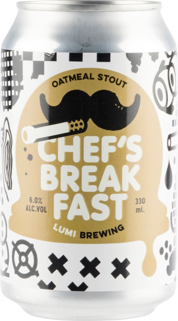 Lumi Chef's Breakfast Oatmeal Stout can