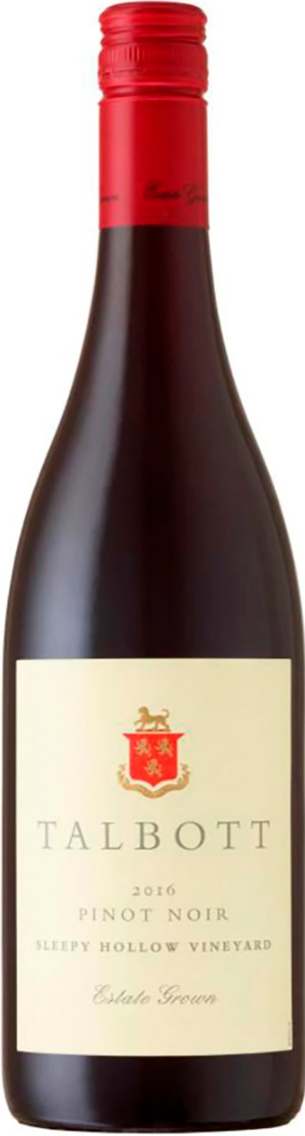 Talbott Sleepy Hollow Vineyard Pinot Noir 2016