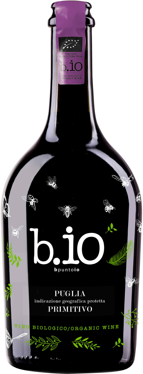 B.io Primitivo Vino Biologico 2016