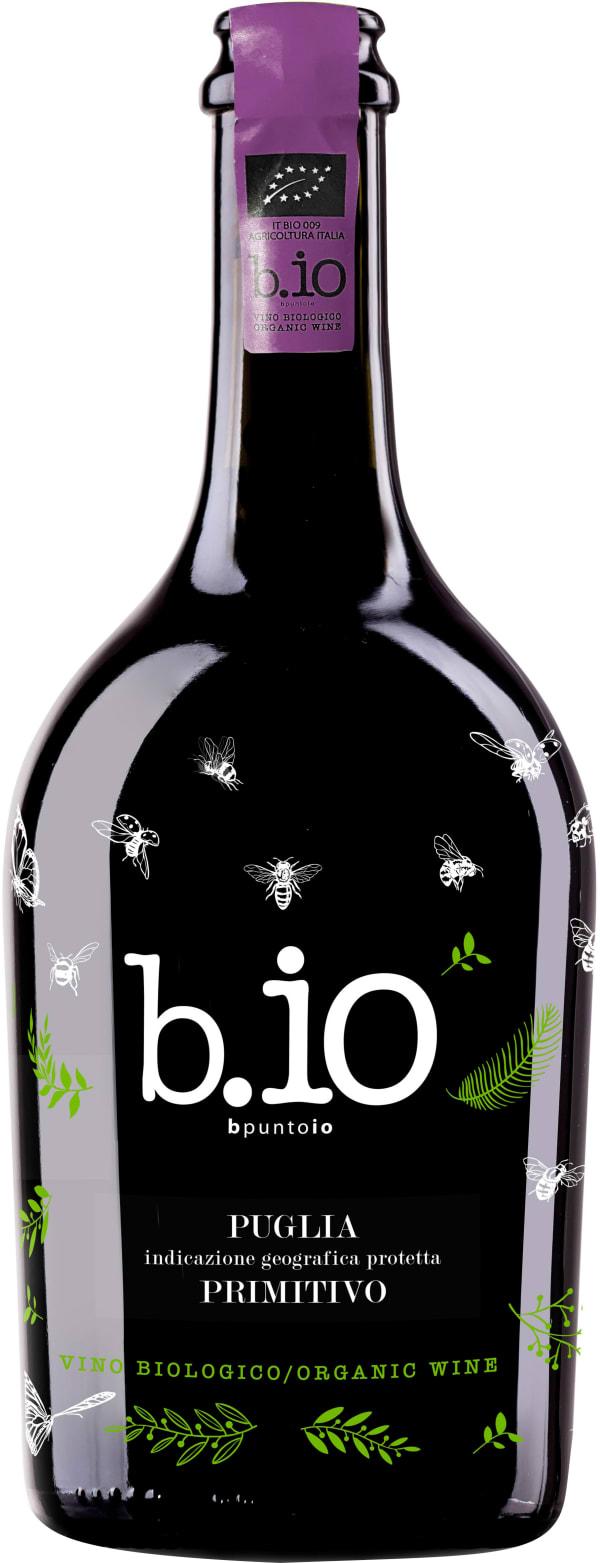 B.io Primitivo Vino Biologico 2018