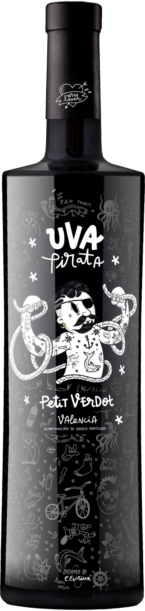 Vicente Gandía Uva Pirata Petit Verdot 2016