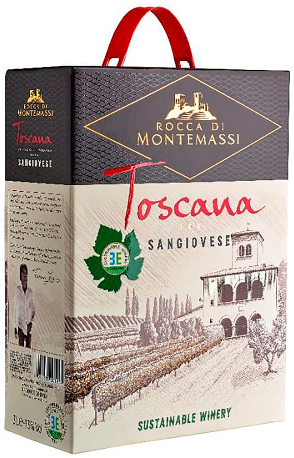 Rocca di Montemassi Toscana Sangiovese 2018 lådvin