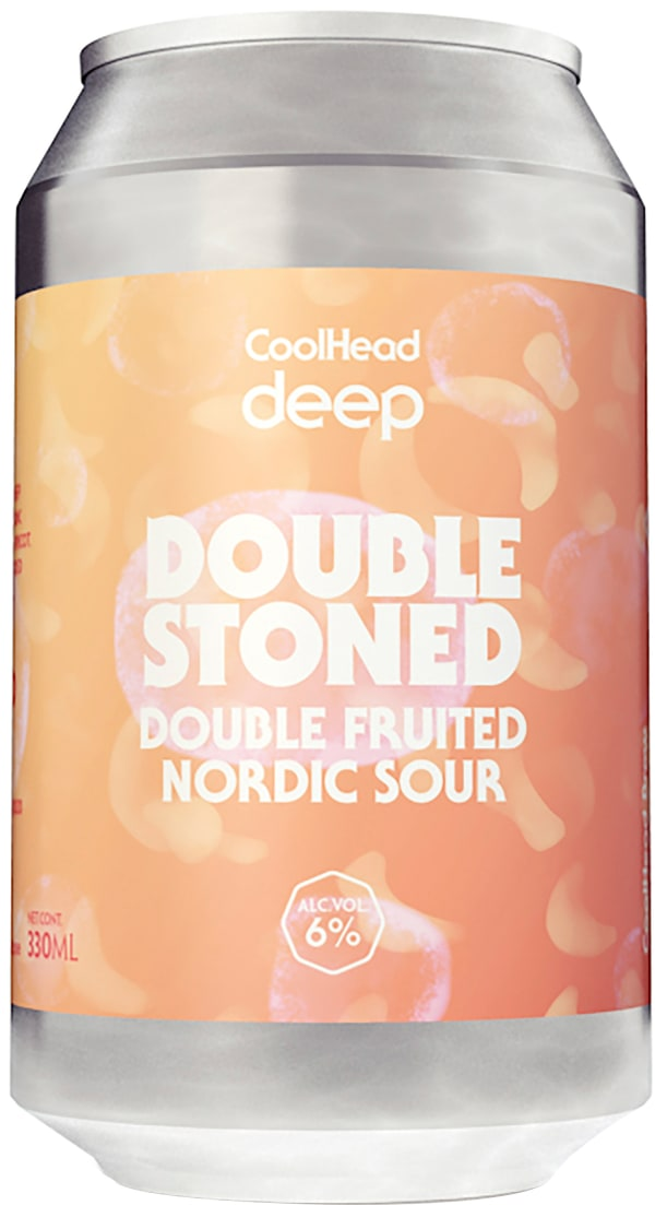 CoolHead Deep Double Stoned Imperial Berliner Weisse can