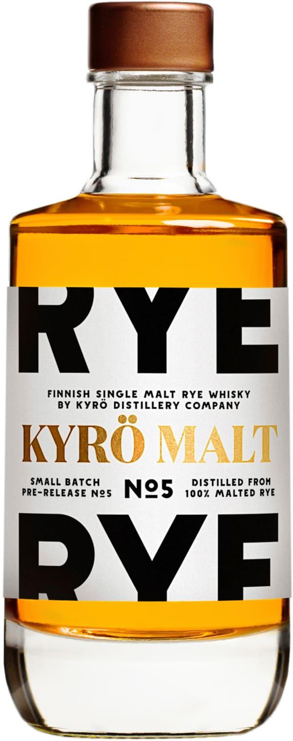 Kyrö Rye Single Malt No 5