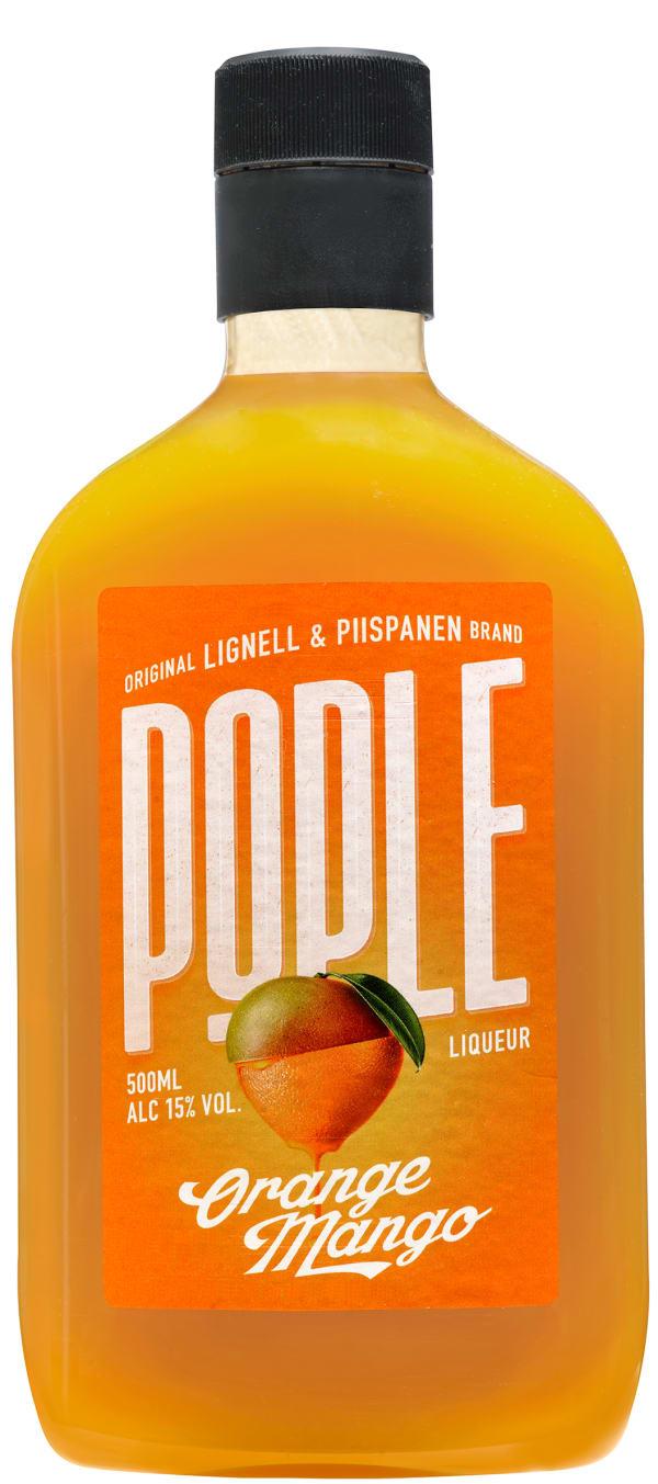 Pople Orange Mango plastic bottle