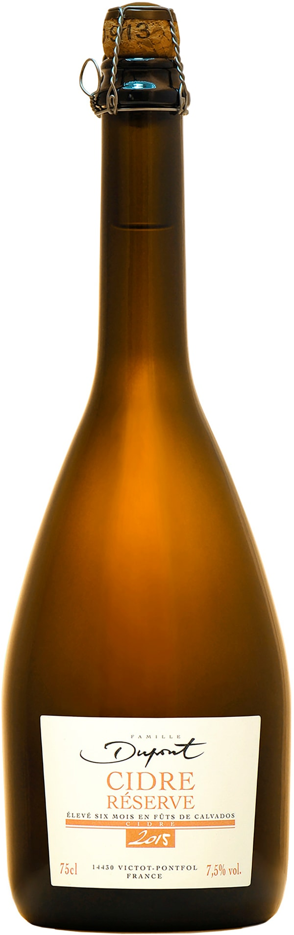 Dupont Cidre Reserve Calvados Cask 2017