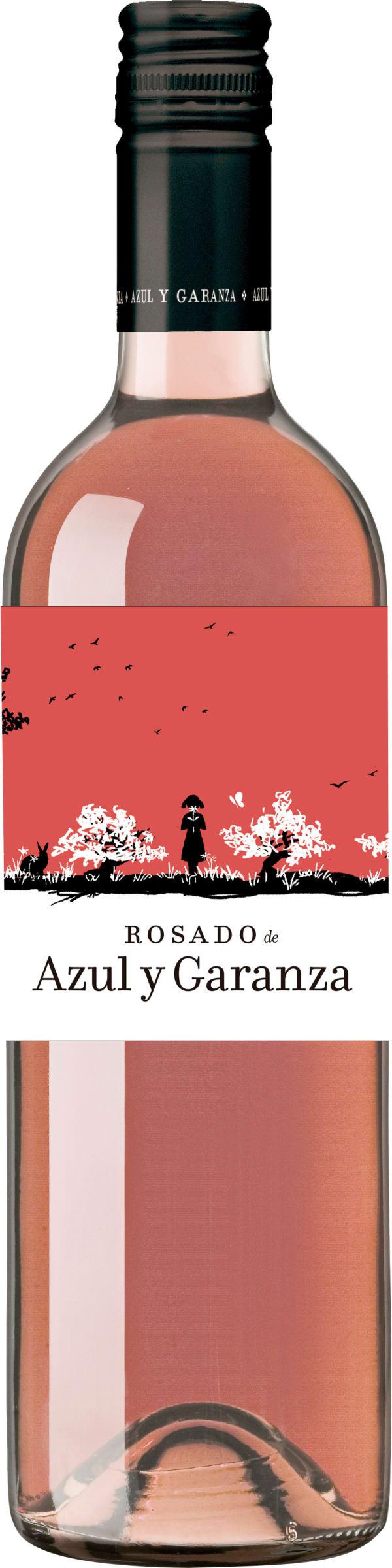 Rosado de Azul y Garanza  2018