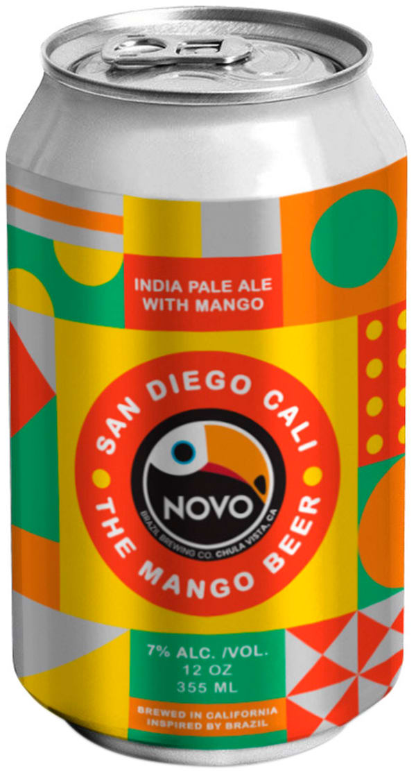 Novo Brazil The Mango Beer can