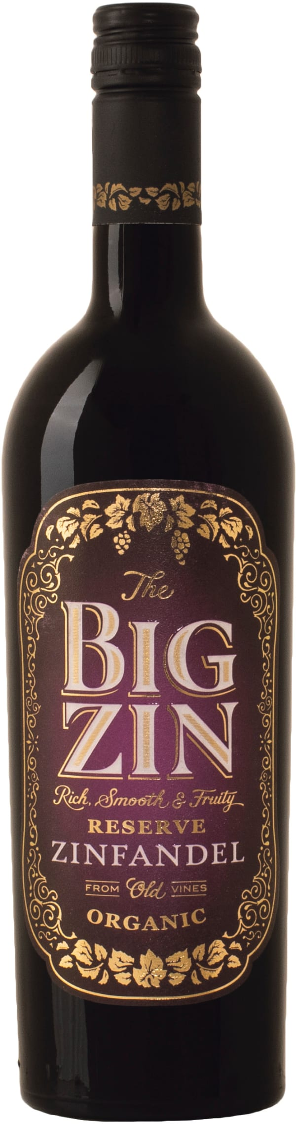 The Big Zin Zinfandel Organic 2018