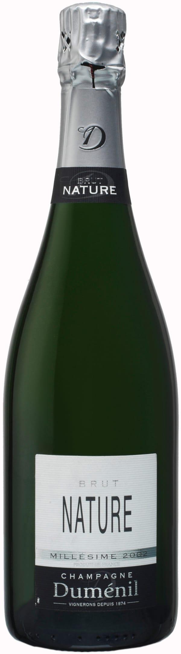 Duménil Nature Millésime Champagne Brut 2002