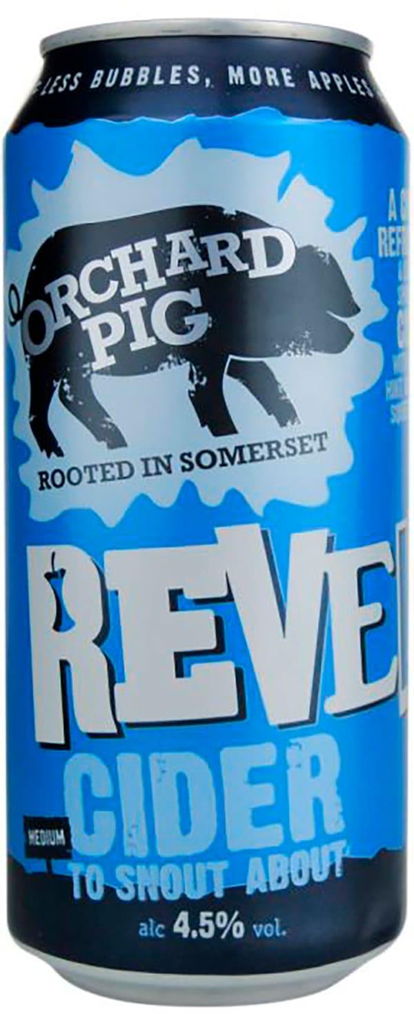 Orchard Pig Reveller Cider burk