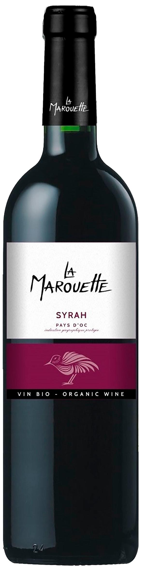 La Marouette Organic Syrah 2017