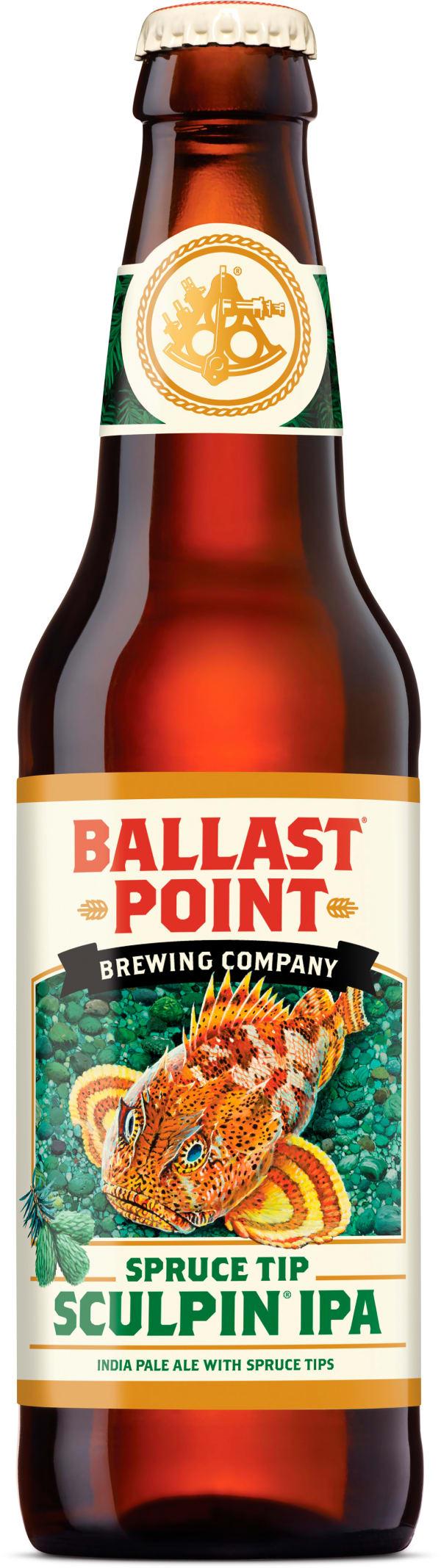 Ballast Point Spruce Tip Sculpin IPA