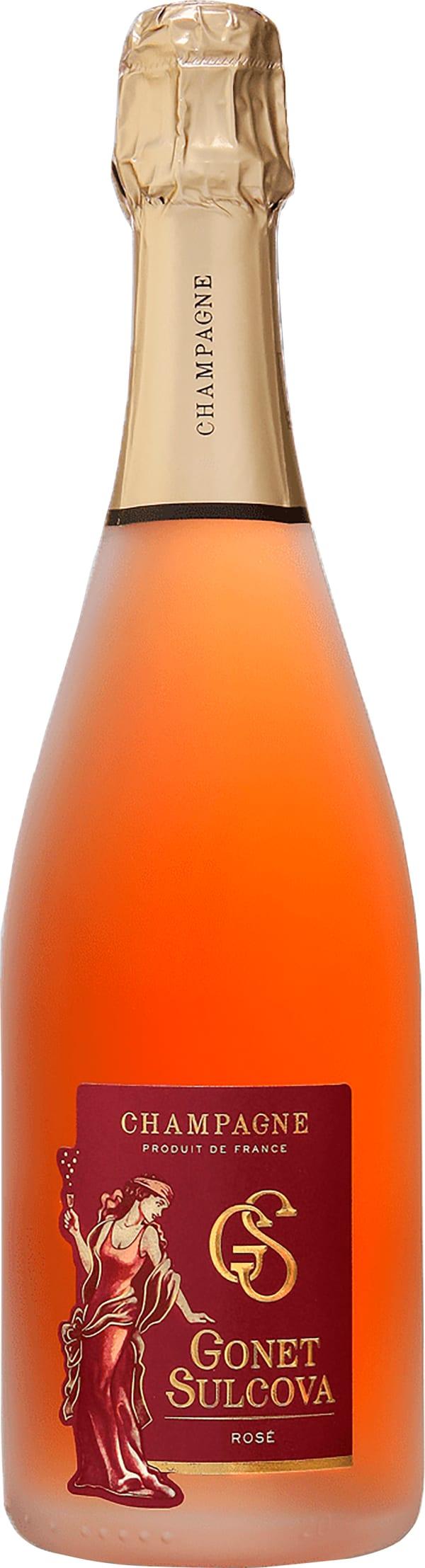 Gonet Sulcova Rose Champagne Sec