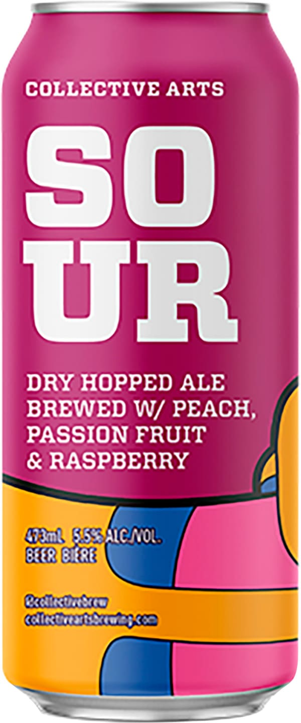 Collective Arts Fruited Dry Hop Sour burk