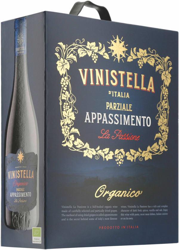 Vinistella Appasimento La Passione Organico 2018 lådvin