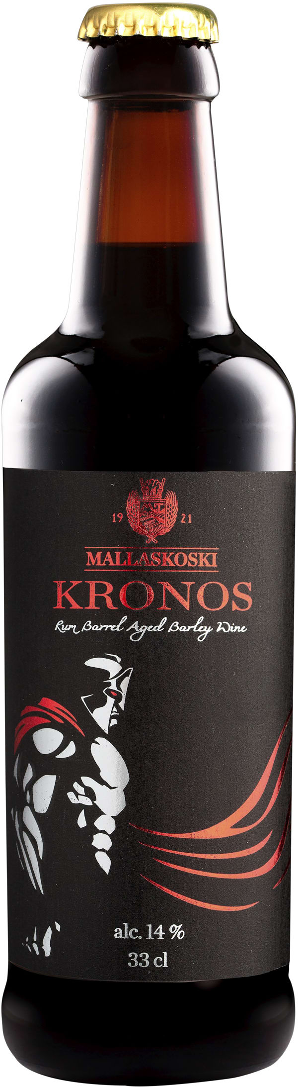 Mallaskoski Kronos Rum Barrel Aged Barley Wine