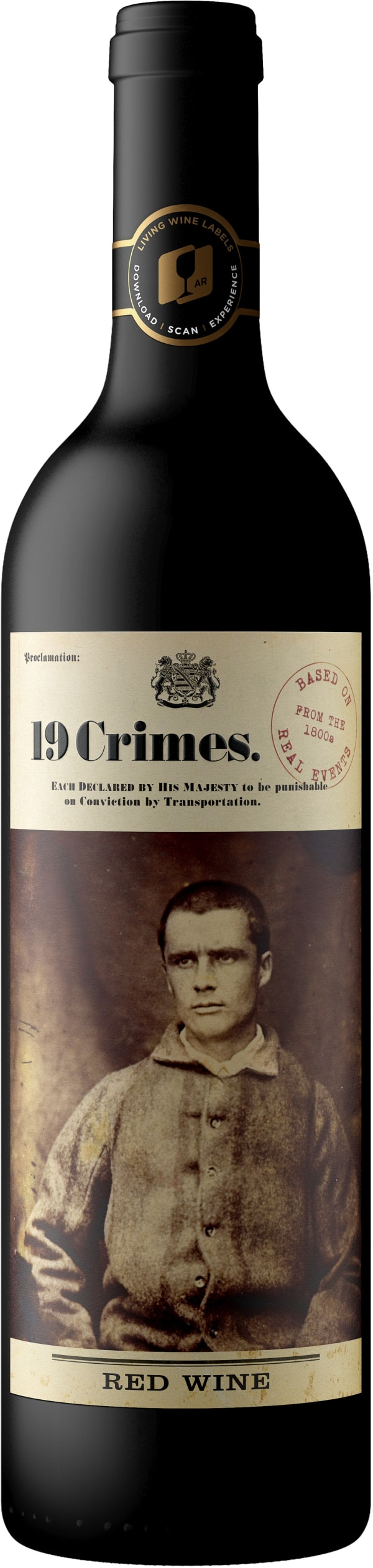 19 Crimes Red wine 2018
