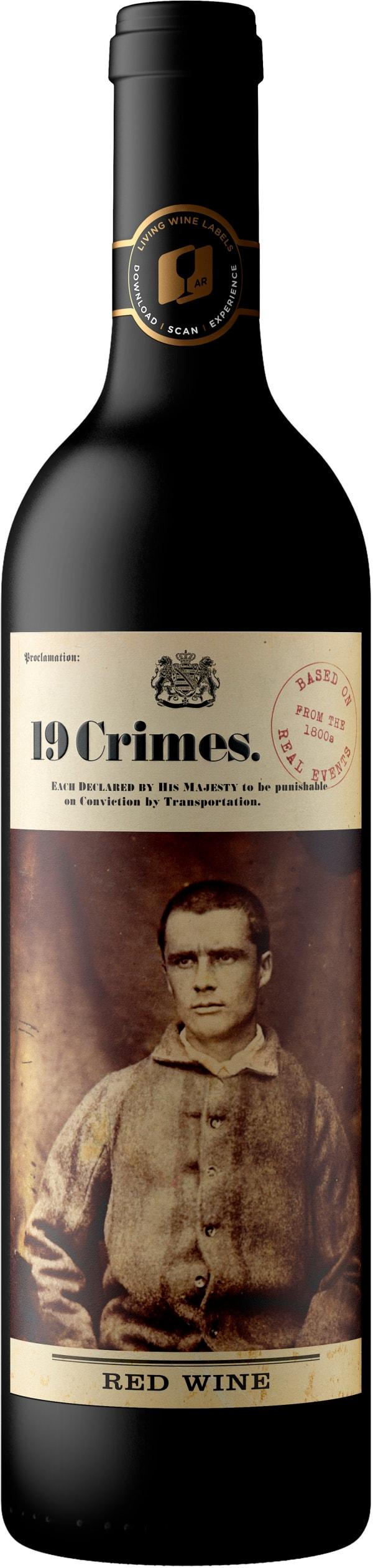 19 Crimes Red wine 2018