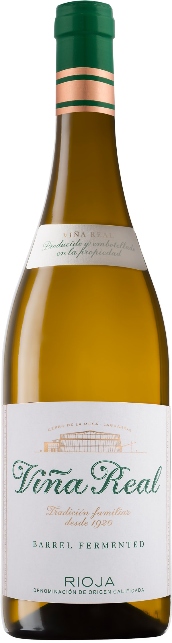 Viña Real Barrel Fermented Blanco 2017
