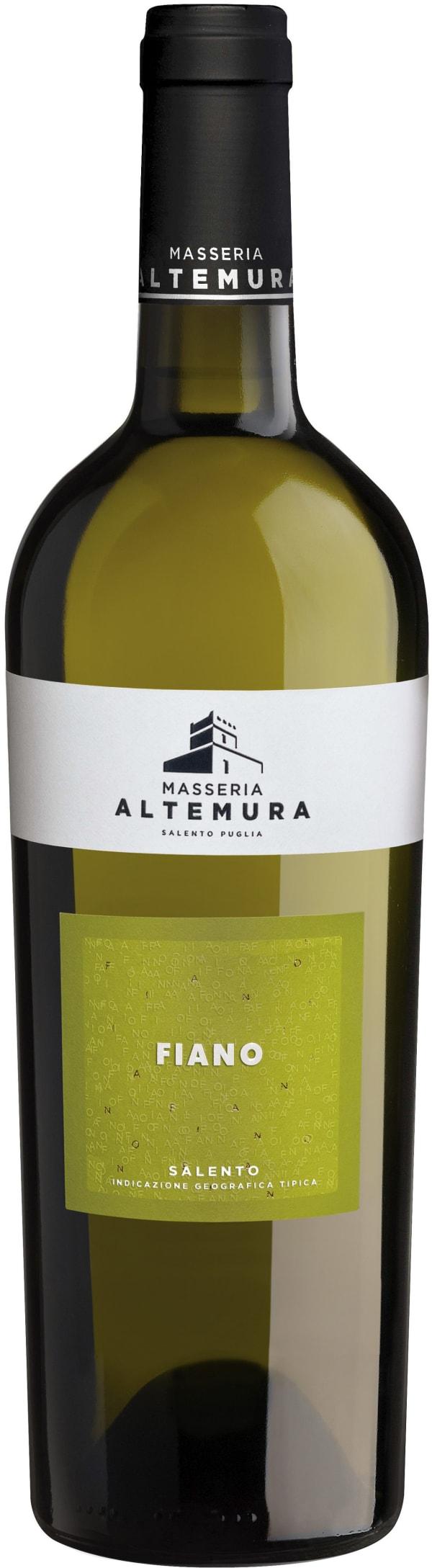 Masseria Altemura Fiano Salento 2018