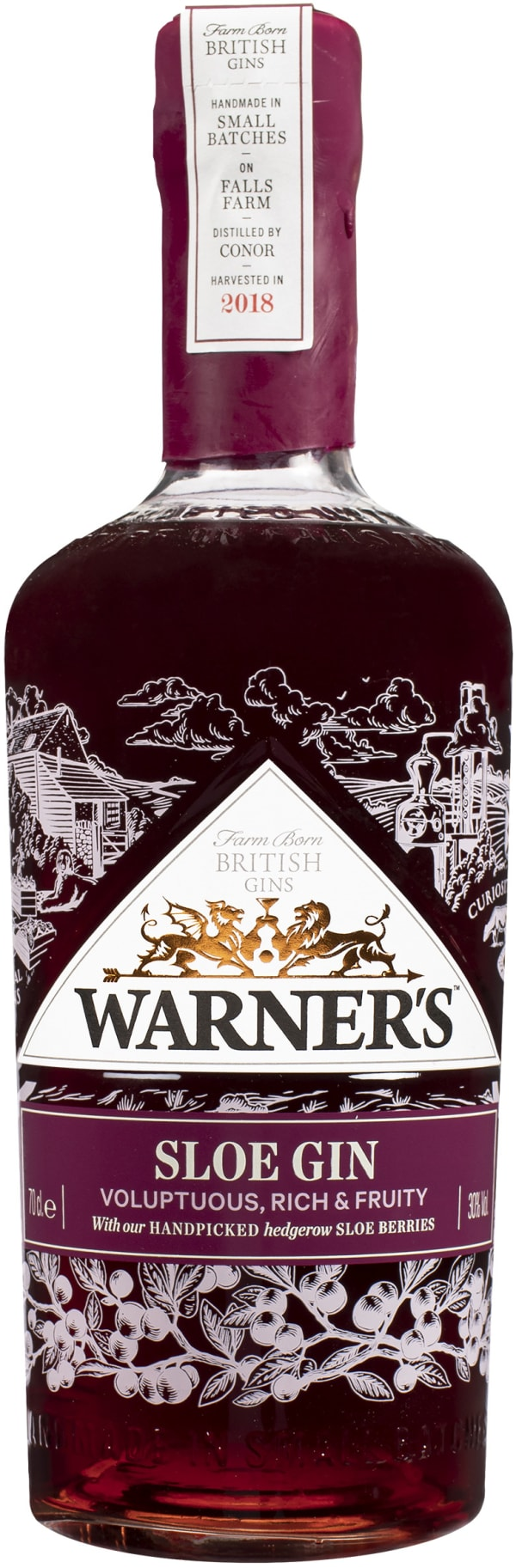 Warner`s Sloe Gin
