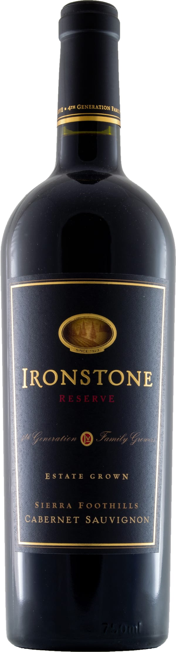 Ironstone Estate Grown Reserve Cabernet Sauvignon 2012