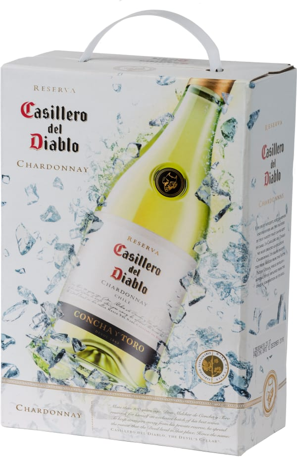 Casillero del Diablo Chardonnay 2018 bag-in-box