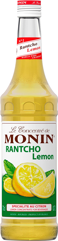 Le Sirop de Monin Rantcho Lemon