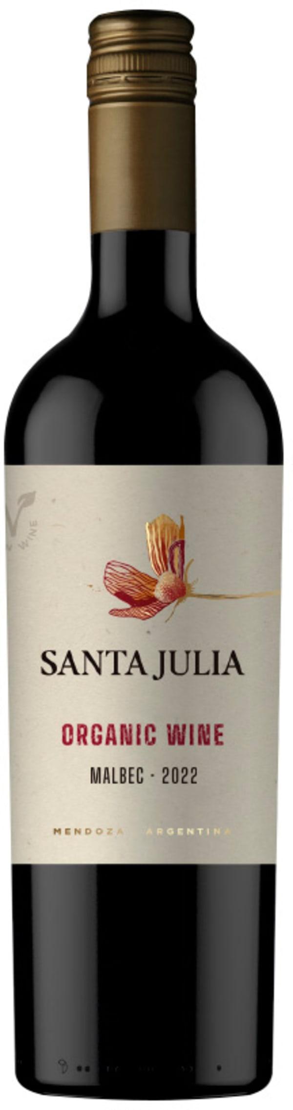 Santa Julia Organic Malbec 2019