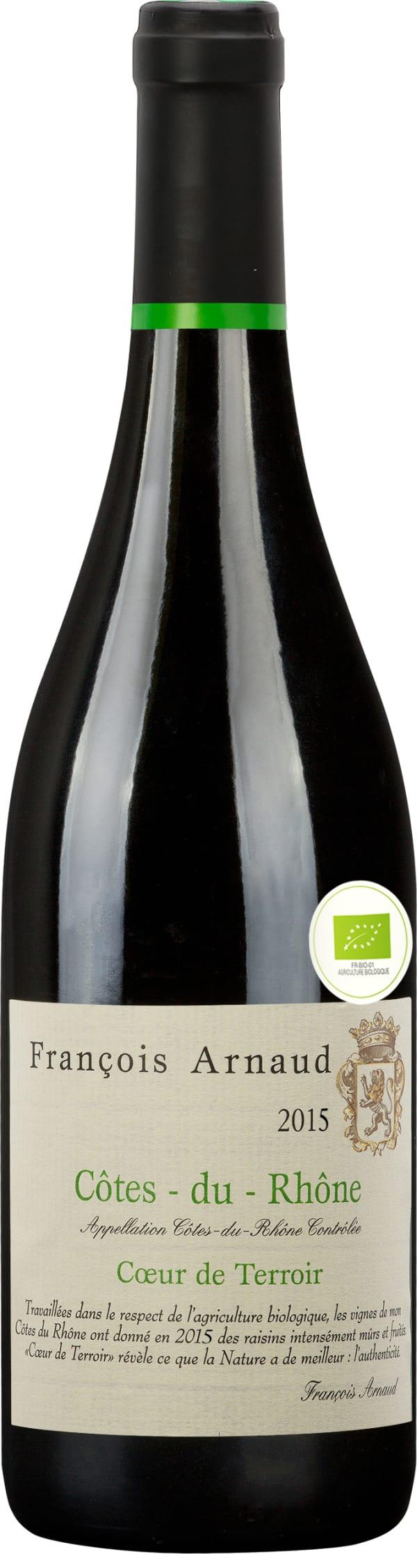 Francois Arnaud Coeur de Terroir Côtes du Rhône 2018