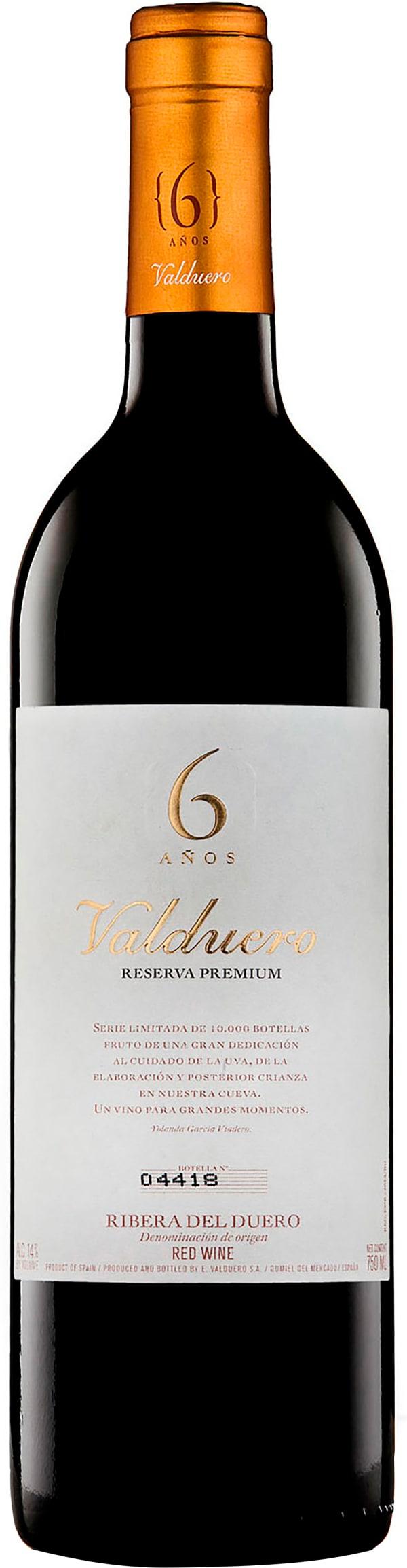 Valduero 6 Años Reserva Premium 2010