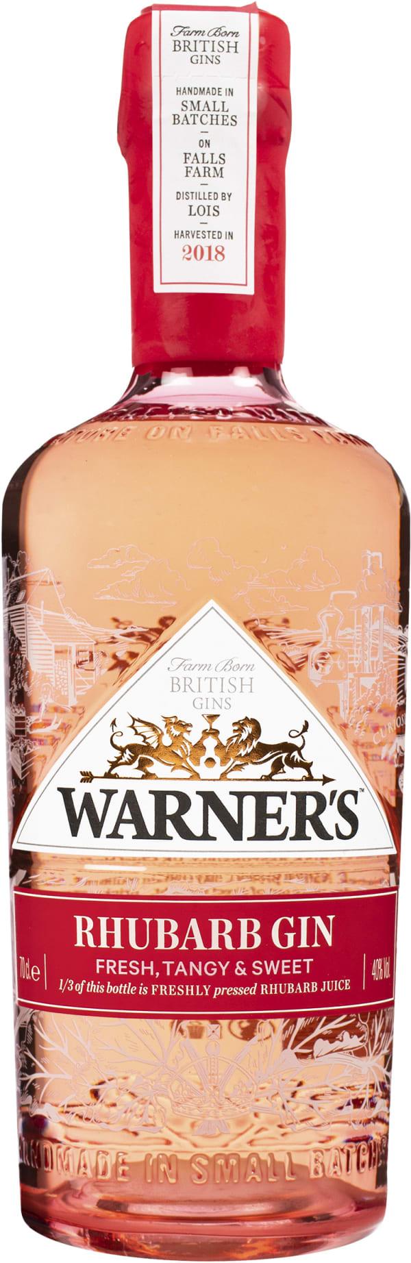 Warner`s Rhubarb Gin