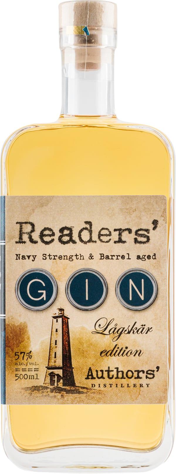 Readers´ Gin Lågskär Edition Navy Strength & Barrel Aged