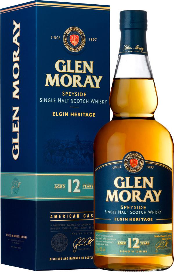 Glen Moray Elgin Heritage 12 Year Old Single Malt