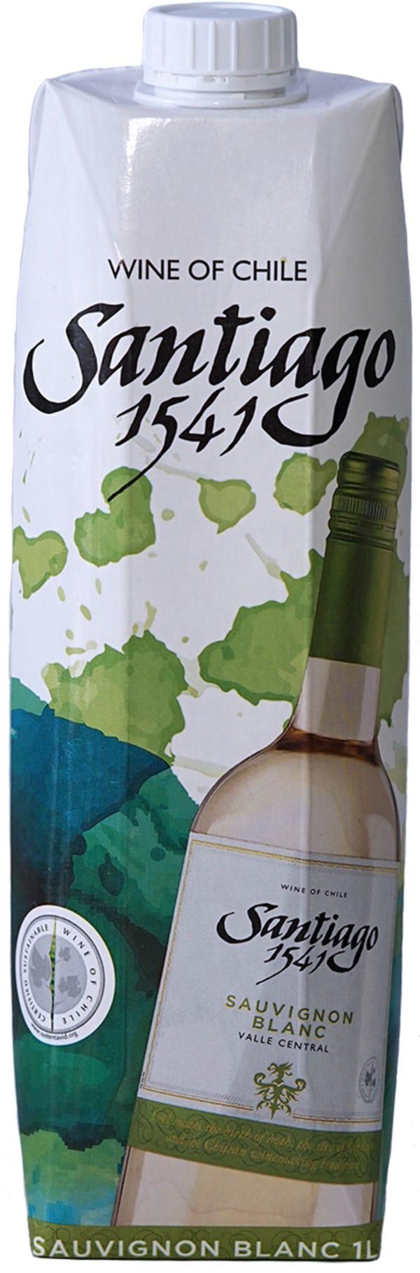 Santiago 1541 Sauvignon Blanc 2018 kartongförpackning