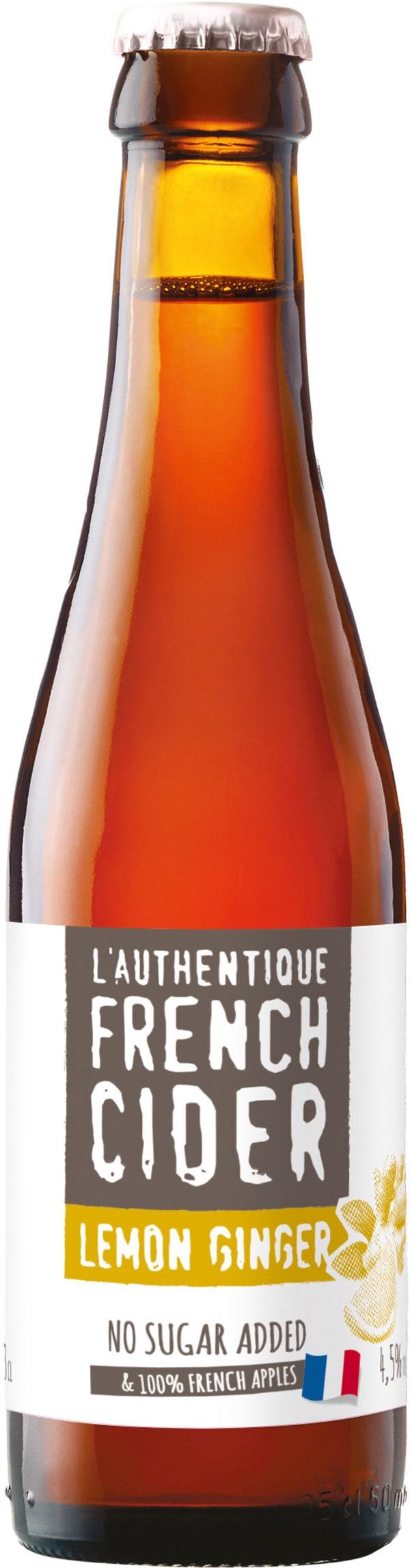 Val de France L'Authentique French Cider Ginger Lemon