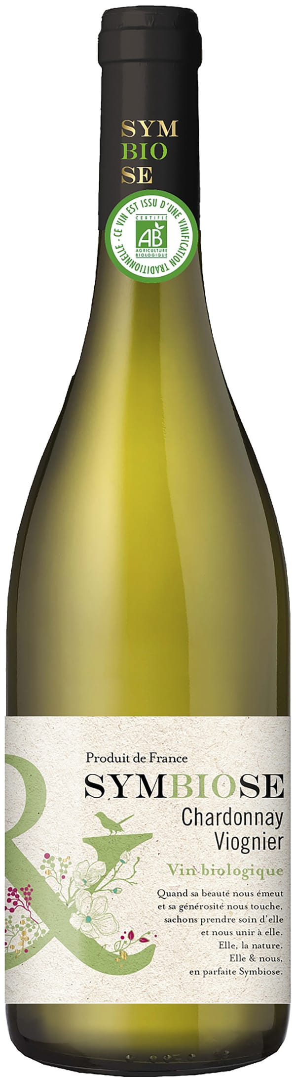 Symbiose Organic Chardonnay Viognier 2018