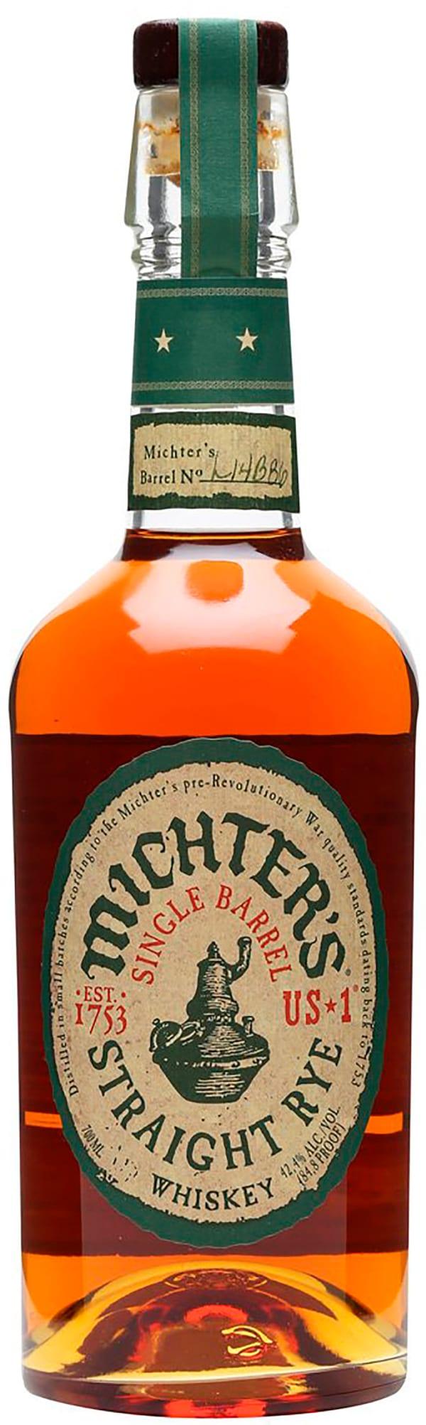 Michter's Single Barrel Kentucky Straight Rye